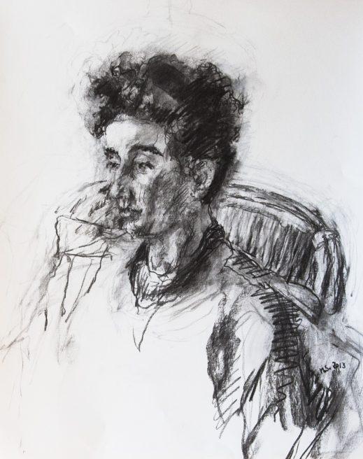 Getekend portret