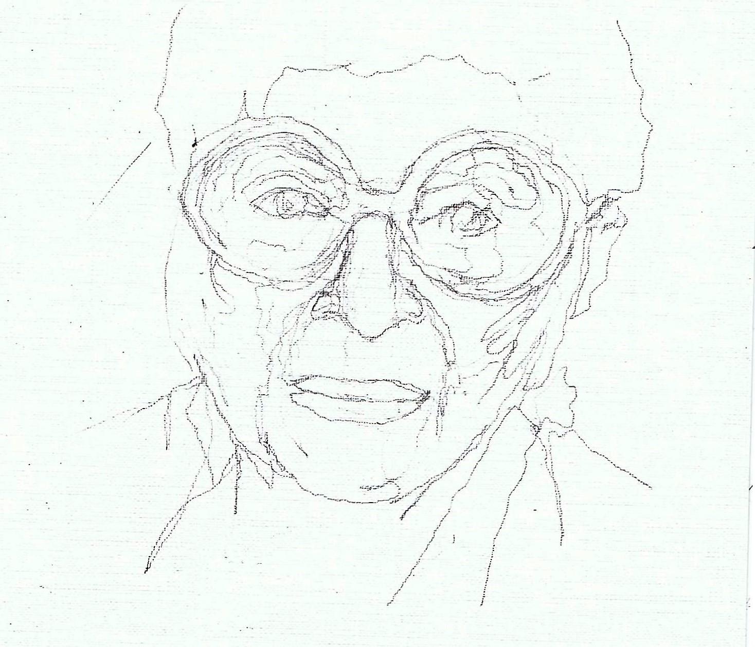 365 dagen een portret 187 Iris Apfel, stijl-icoon Potlood 19c25