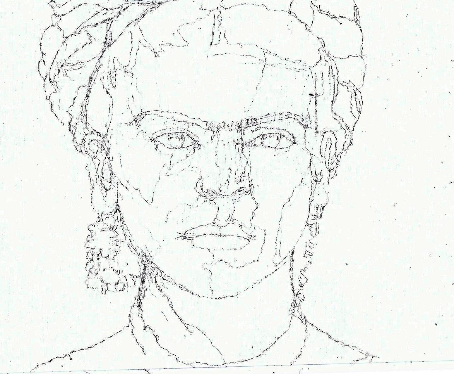 365 dagen een portret 182 Frida Kahlo (2) Potlood 19c25