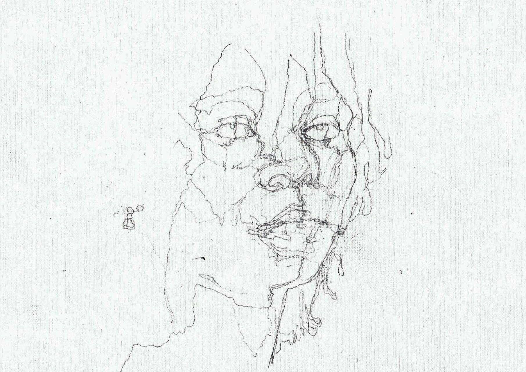 365 dagen een portret Whoopi Goldberg, actrice Potlood 19c25