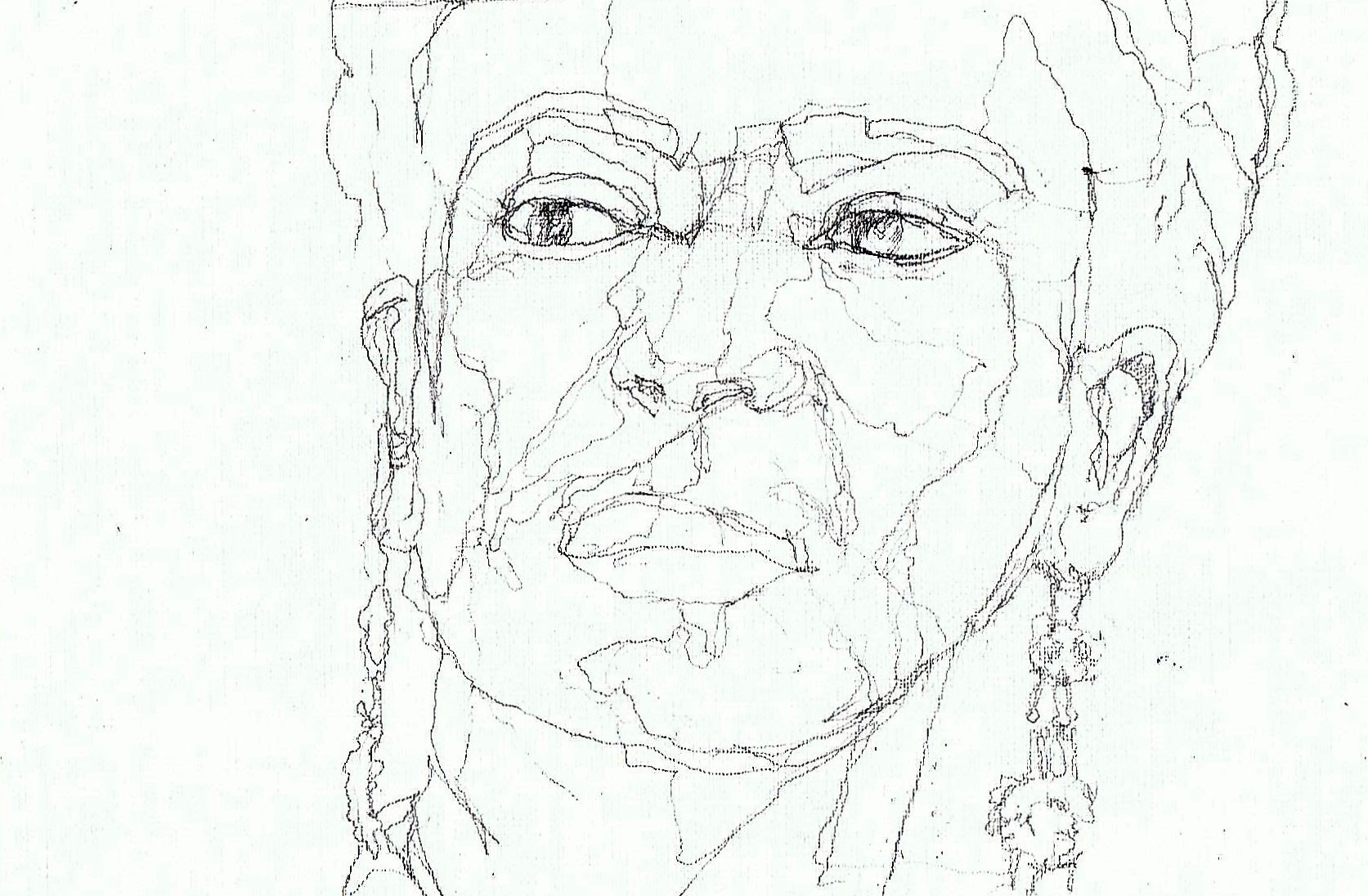 365 dagen een portret 177 Frida Kahlo, kunstenaar Potlood 19c25