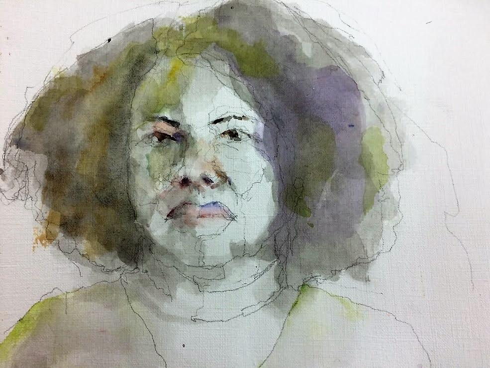 Katia 2017 Inkt en ecoline 19x35