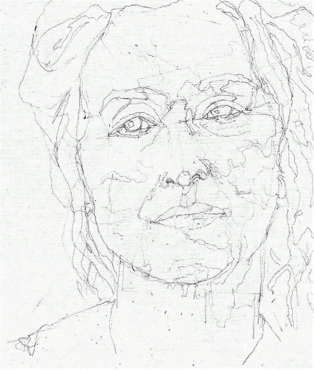 365 dagen een portret Meryl Streep, actrice Potlood 19c25