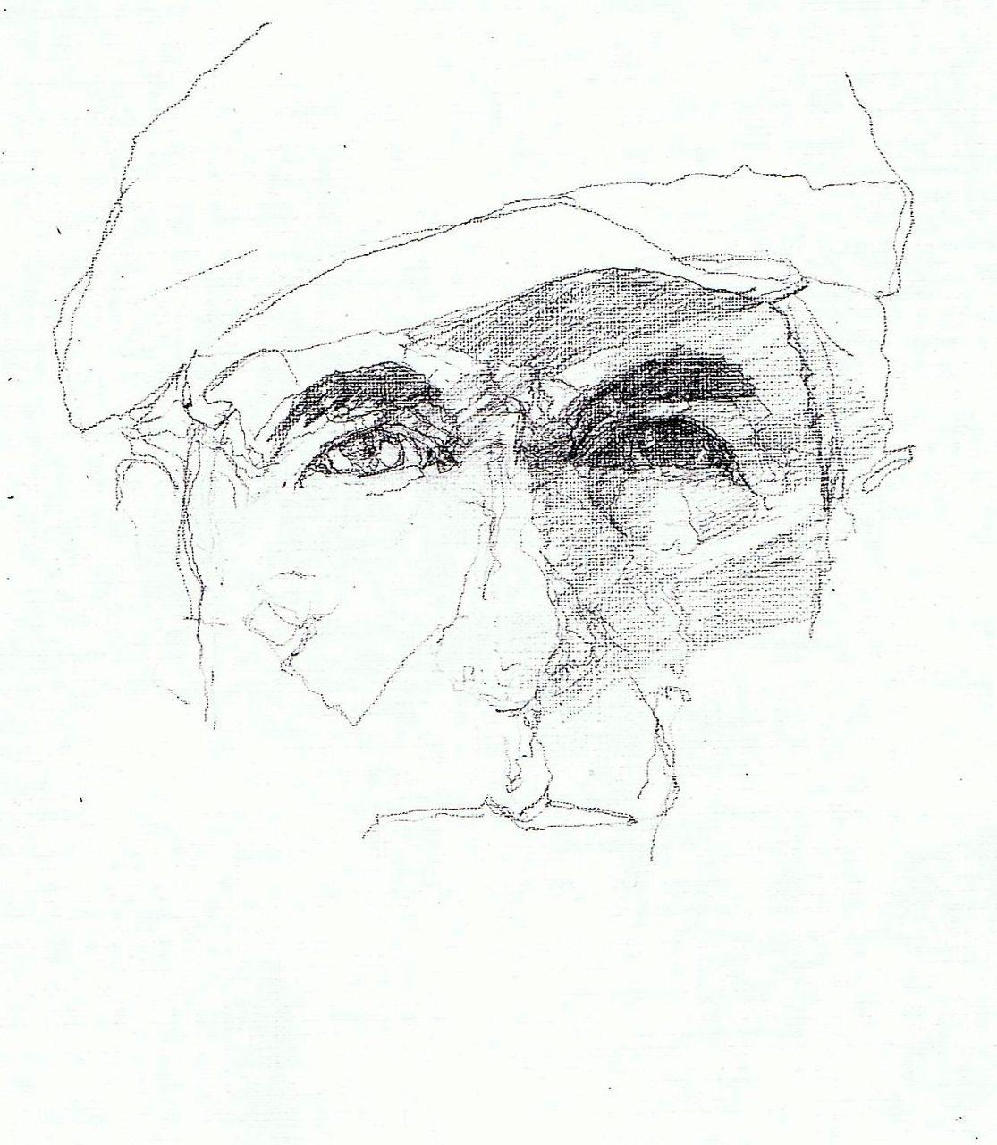 365 dagen een portret Leonard Cohen, singer-songwriter potlood 19c25