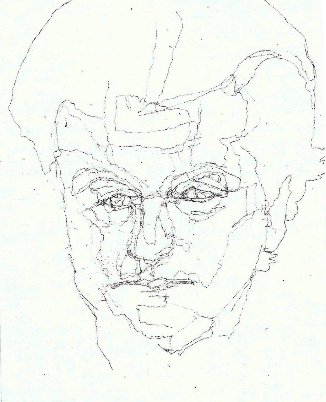 365 dagen een portret Geert Wilders, politicus Tekening 19c25