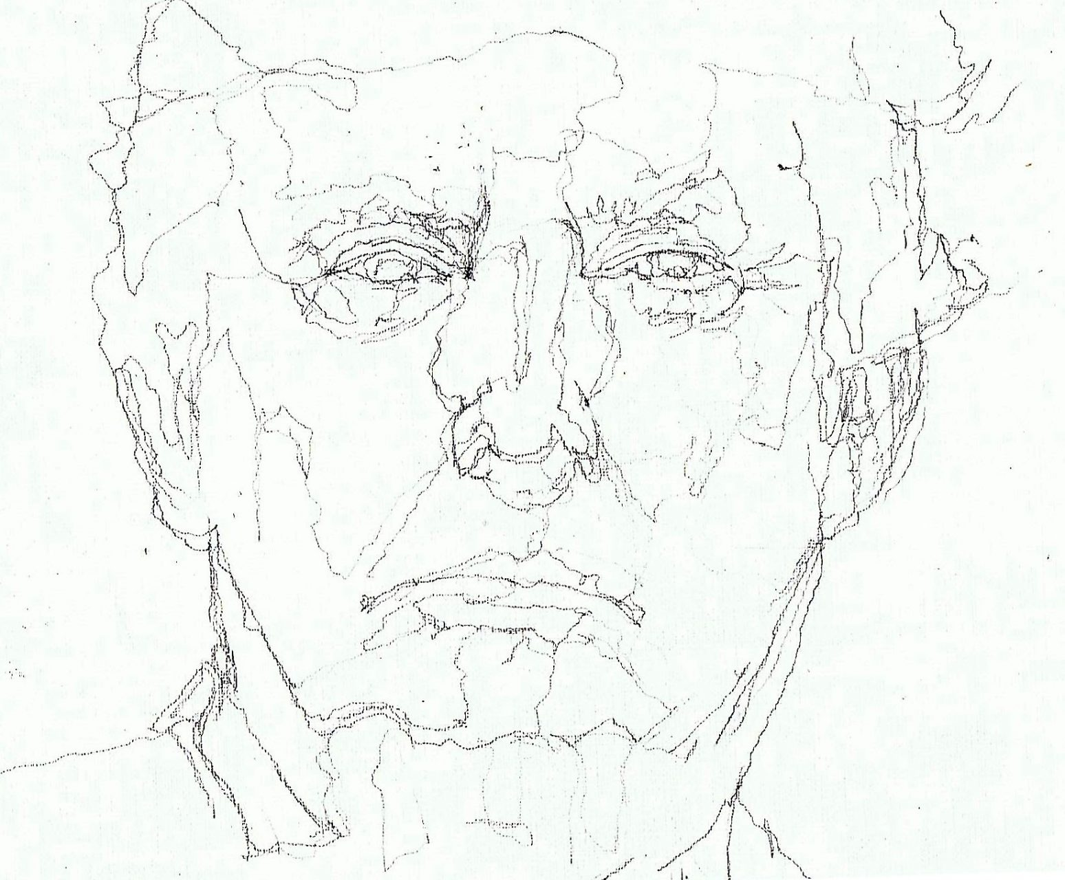 365 dagen een portret Donald Trump, president VS Potlood 19c25