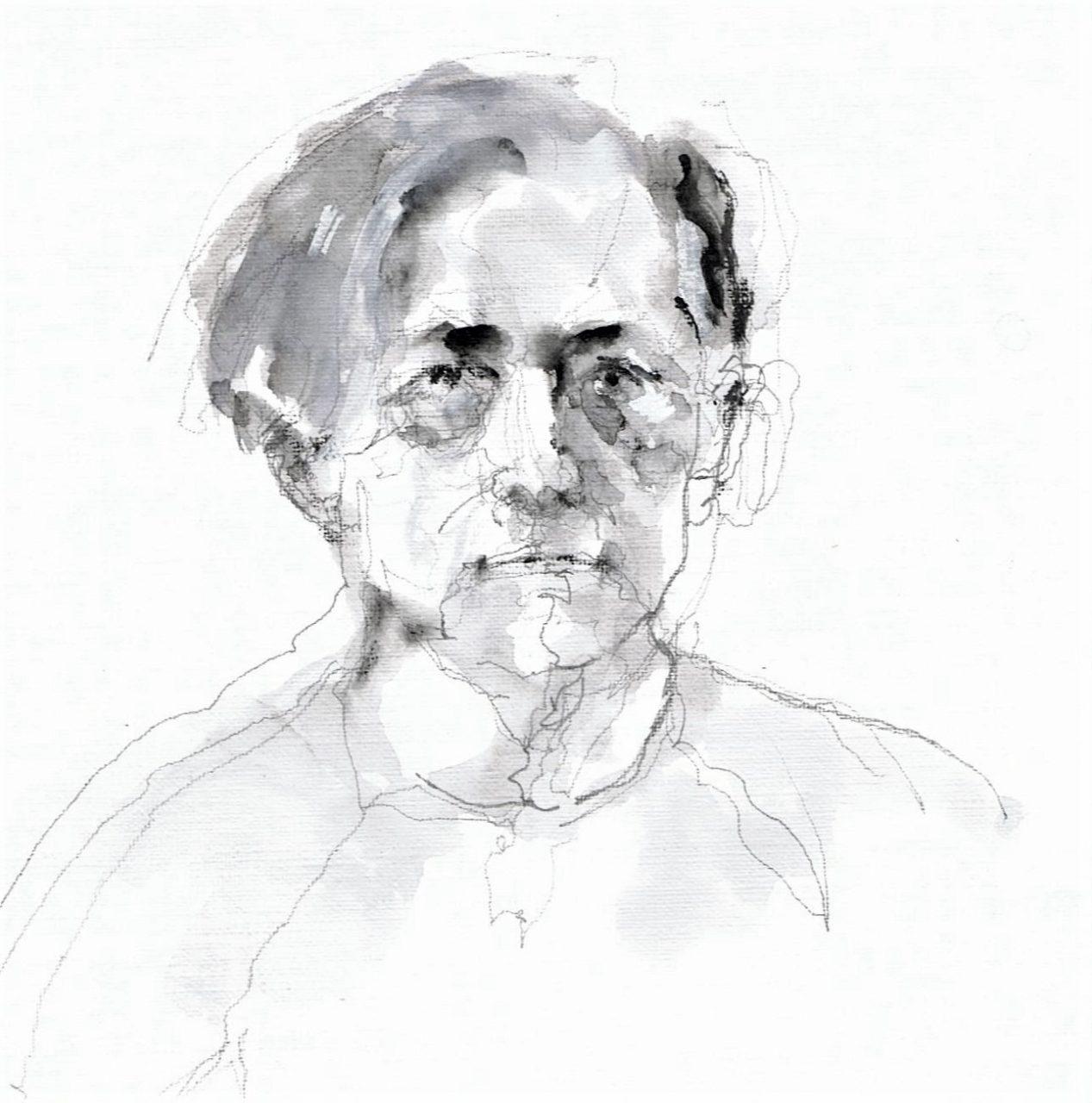 365 dagen een portret Claes Jansson, Noorwegen Pen en inkt 19c25