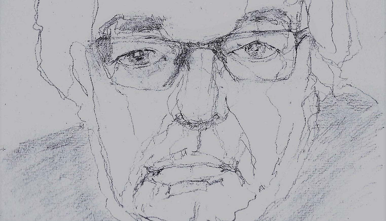 365 dagen een portret 11 Maarten van Rossum potlood 2B 19c25