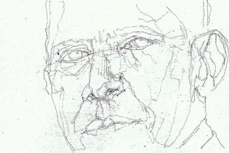 365 dagen een portret 164 Barack Obama, president V.S. Potlood 19c25