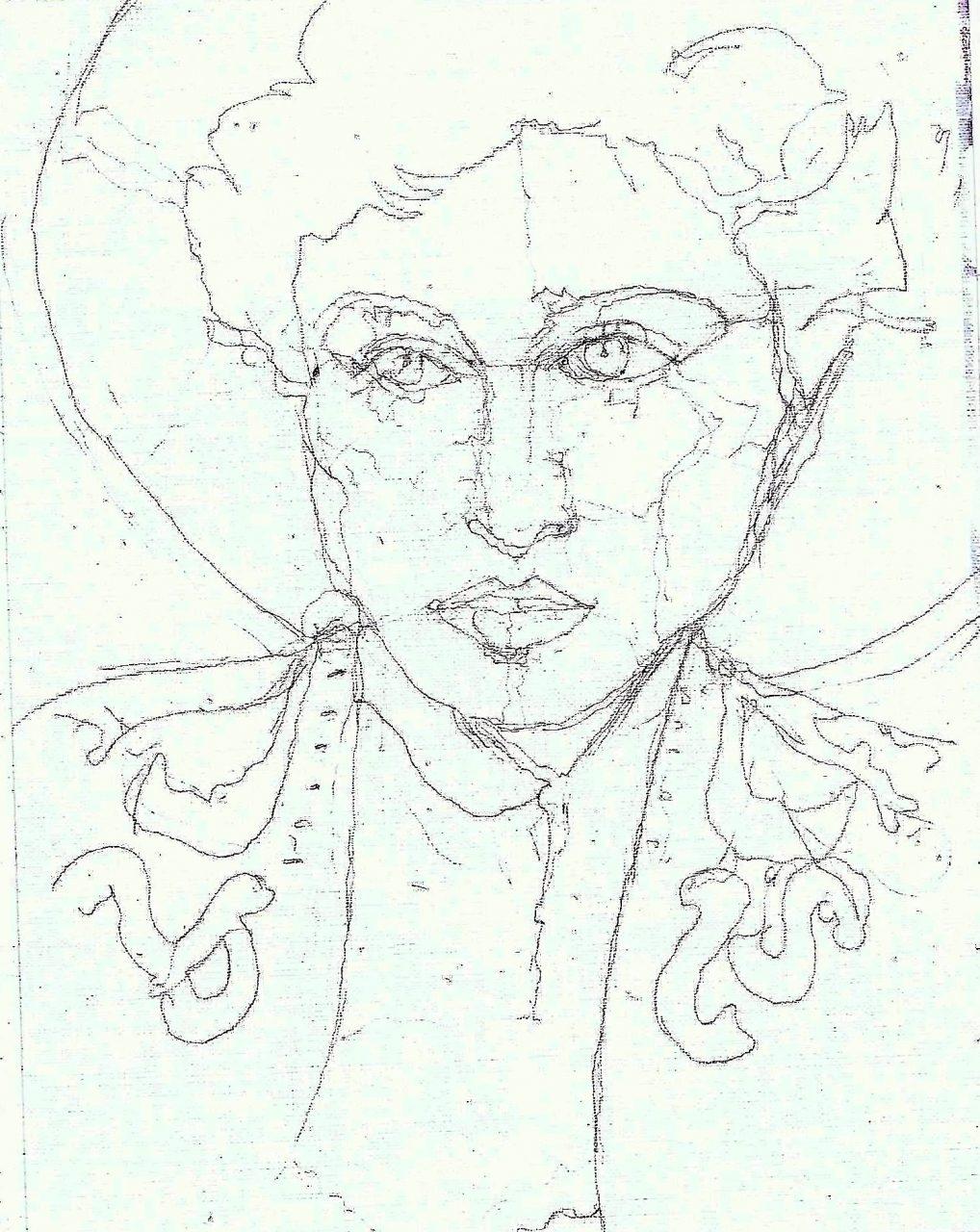 365 dagen een portret 160 Madonna, zangeres Potlood 19c25