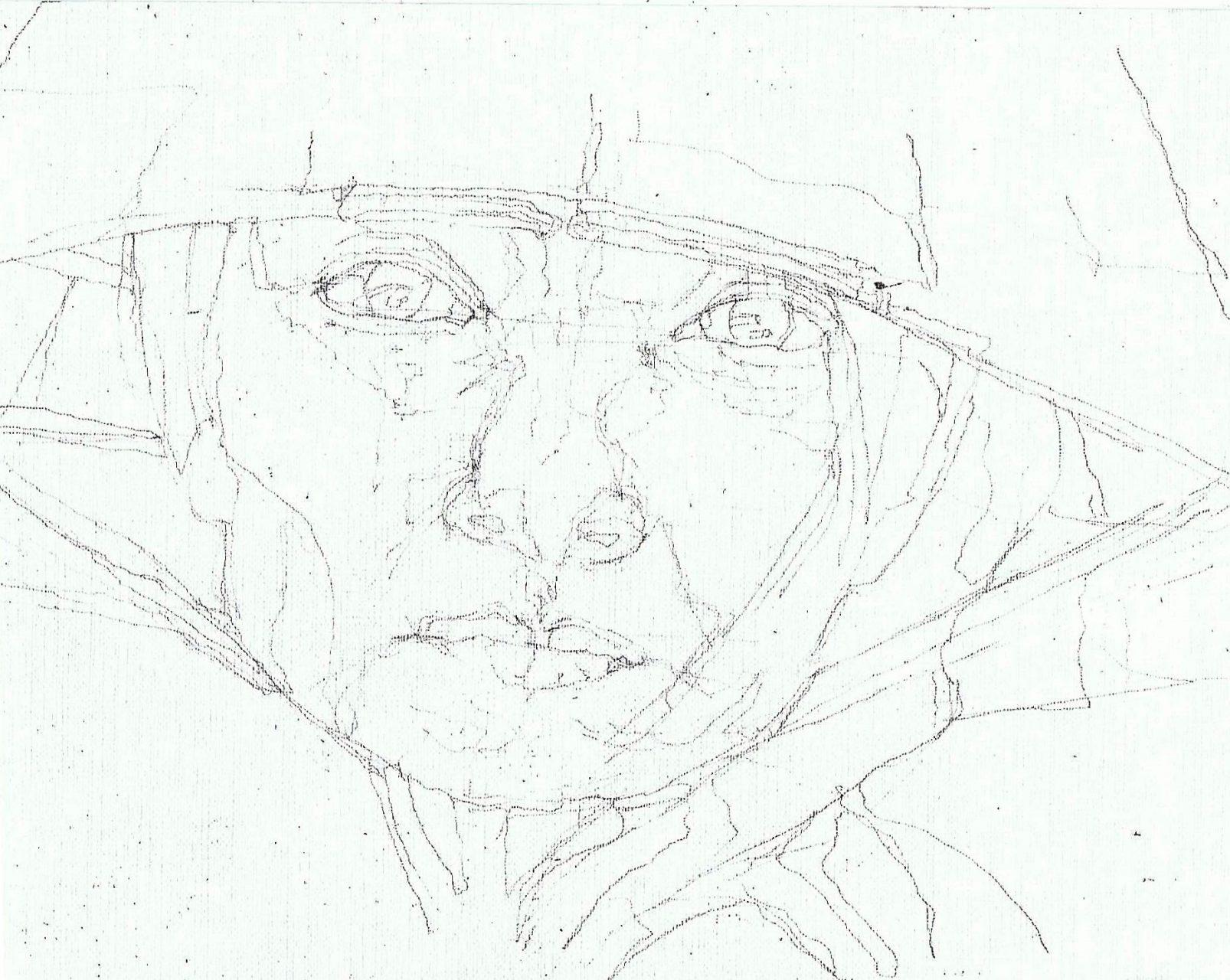 365 dagen een portret 139 Jonge Chinese met Nonla Potlood 19c25