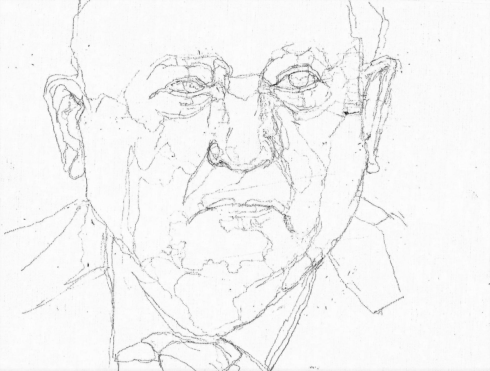 365 dagen een portret 92 Michael Corbatsjov Potlood 19c25