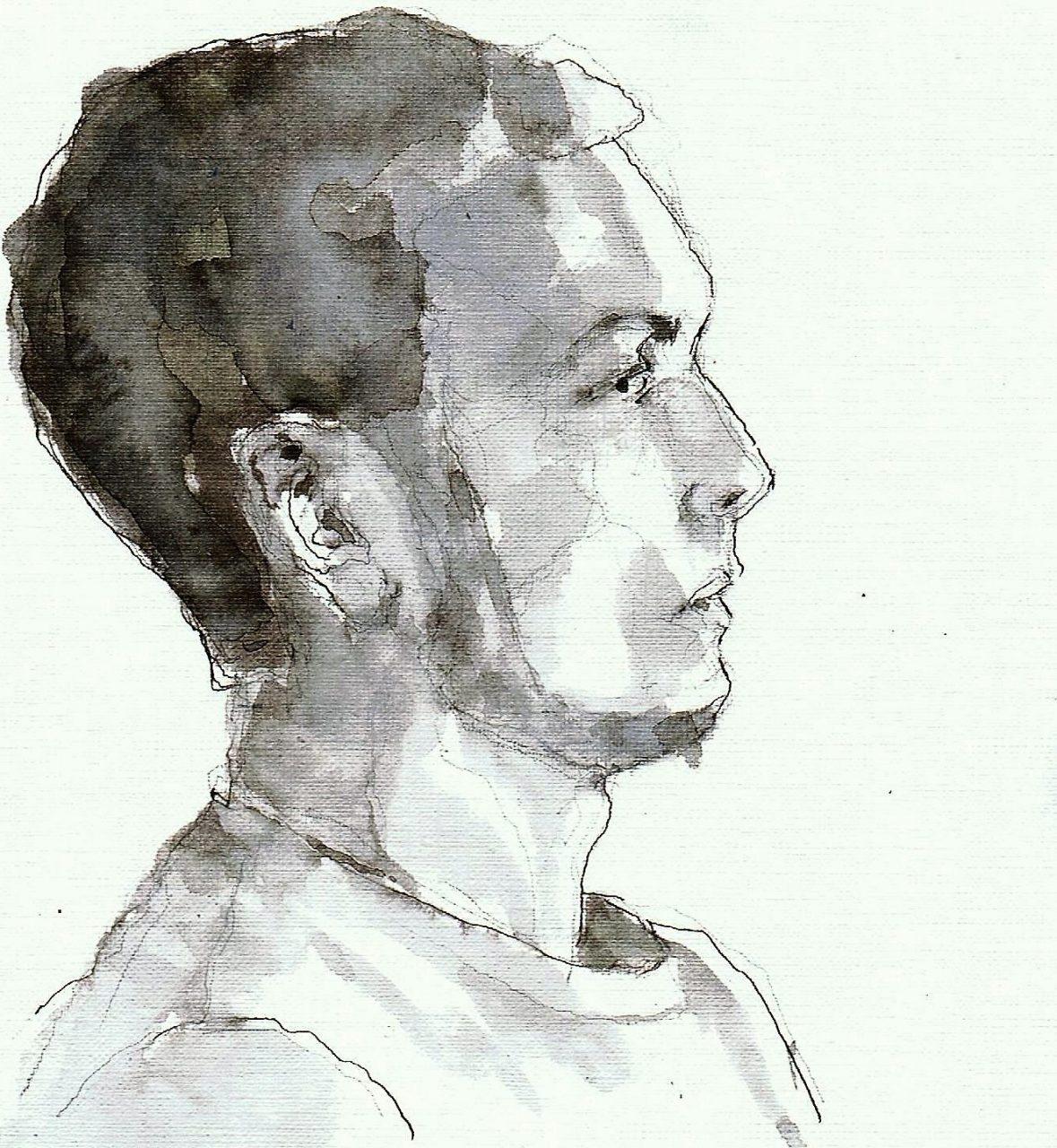 365 dagen een portret 89 Arno, model Tekening 19c25