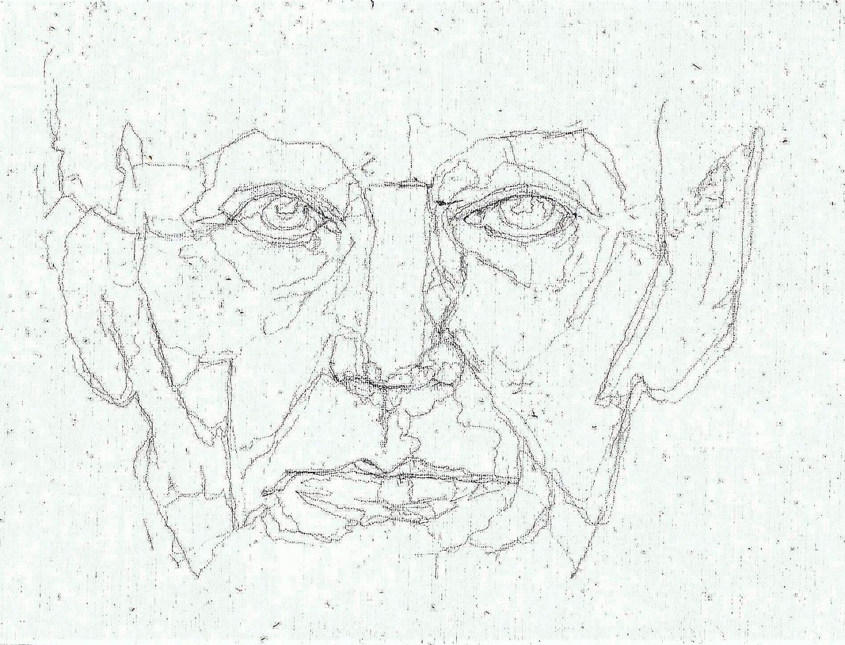 365 dagen een portret 83 Abraham Lincoln, 16e president VS Potlood 19c25