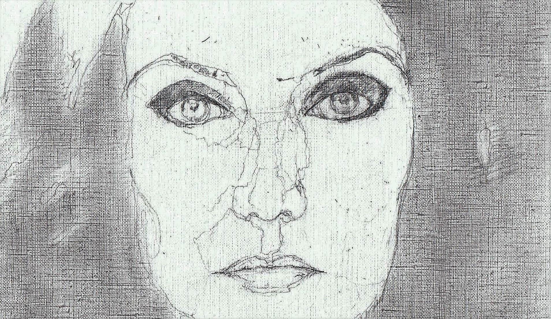 365 dagen een portret 77 Carice van Houten, actrice Potlood 19c25