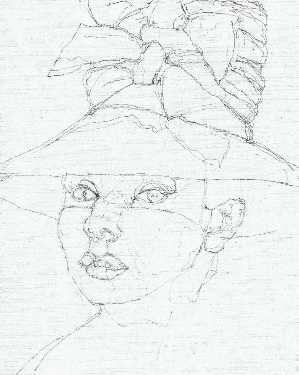 365 dagen een portret Audrey Hepburn, actrice Potlodd 19c25
