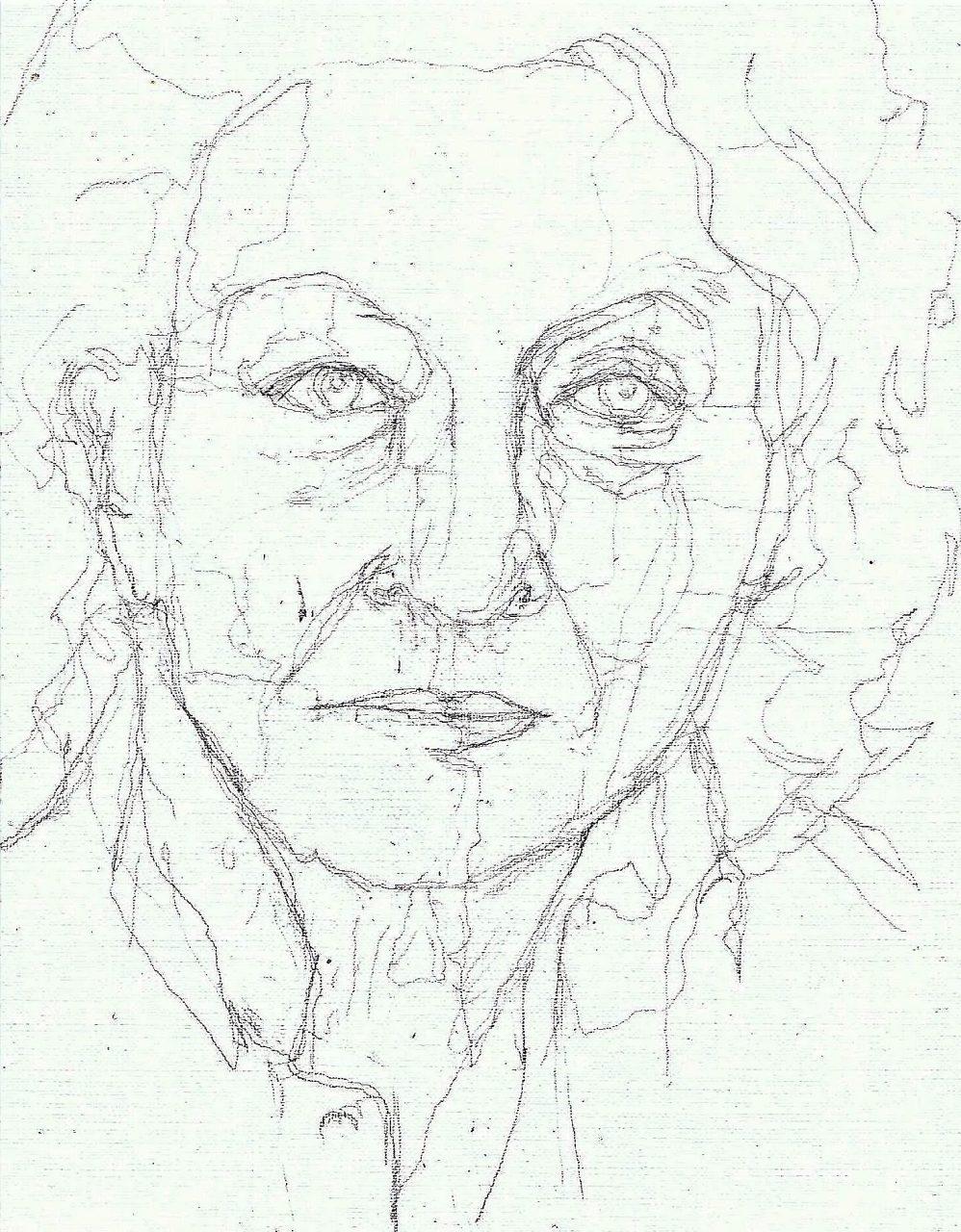 365 dagen een portret 49 Nelleke Noordervliet, schrijfster Potlood 19c25
