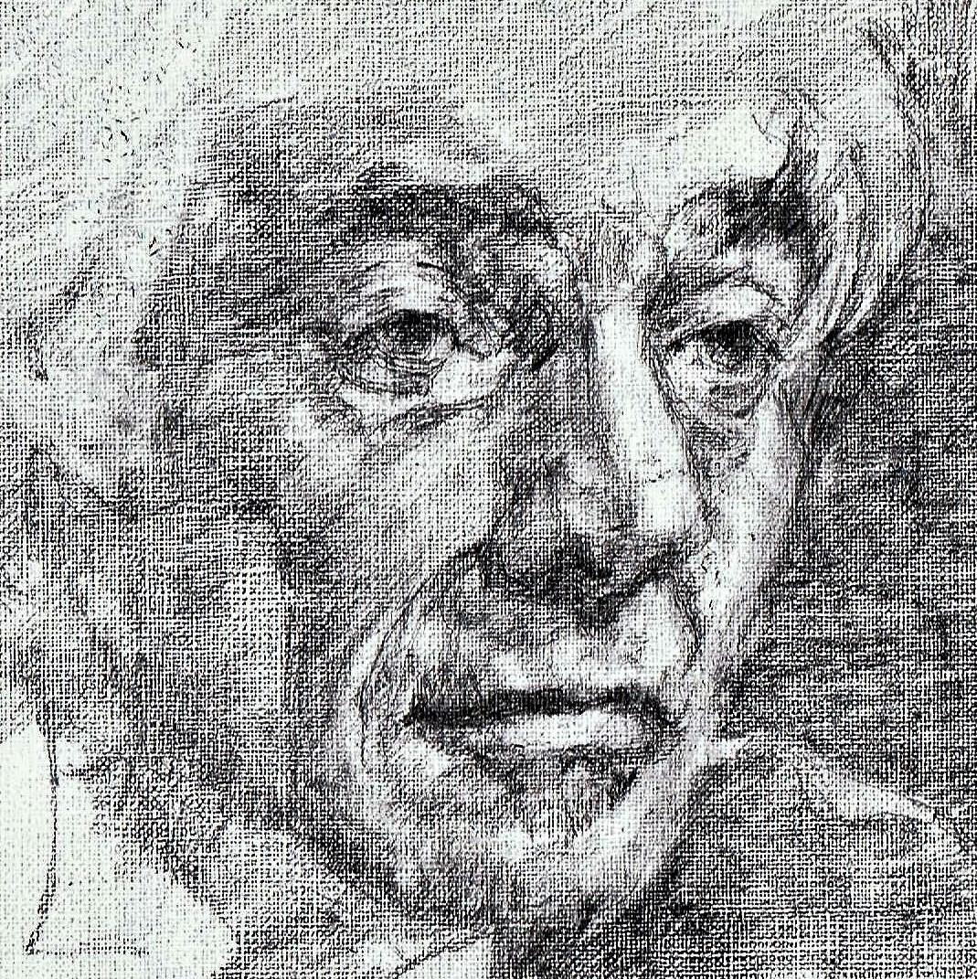 365 dagen een portret 42 Leonard Bernstein, componist Potlood 19c25