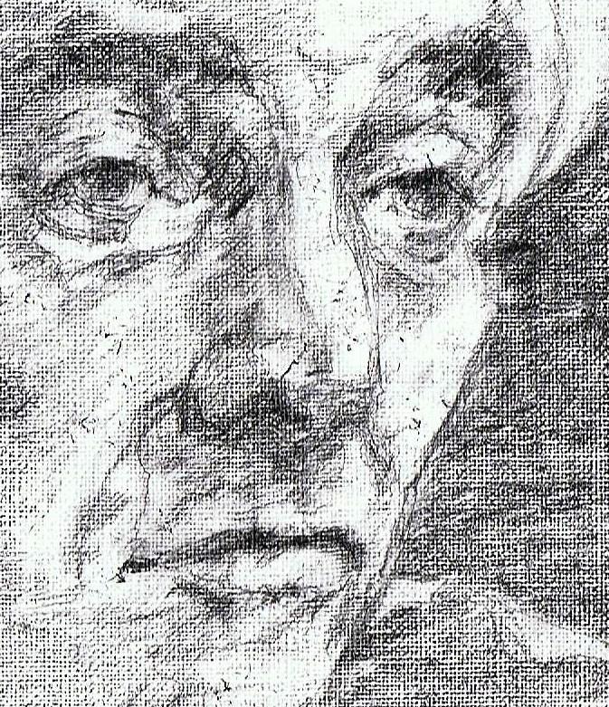 365 dagen een portret 41 Leonard Bernstein, componist Potlood 19c25
