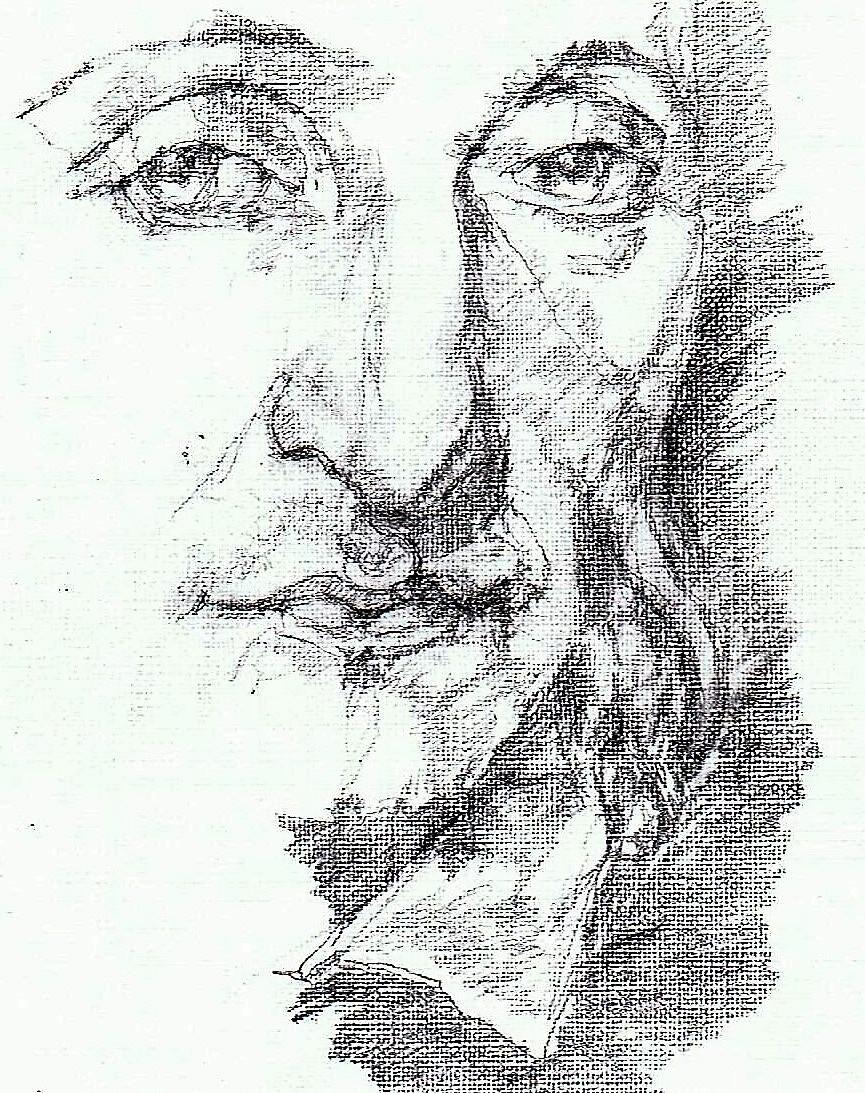 365 dagen een portret 30 Paganini, componist Potlood 19c25