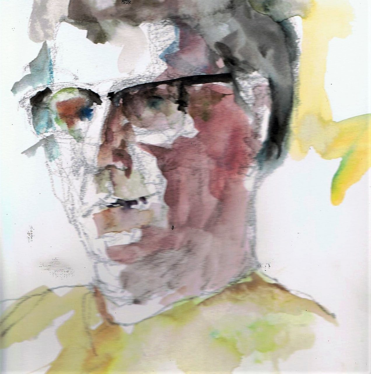 365 dagen een portret 29 Ron, model Aquarel 19c25