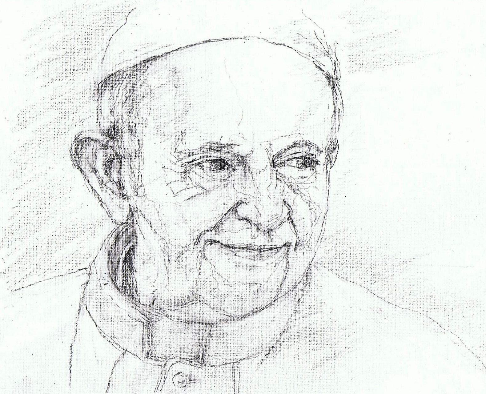 Paus Franciscus 2017 Potlood 19x35