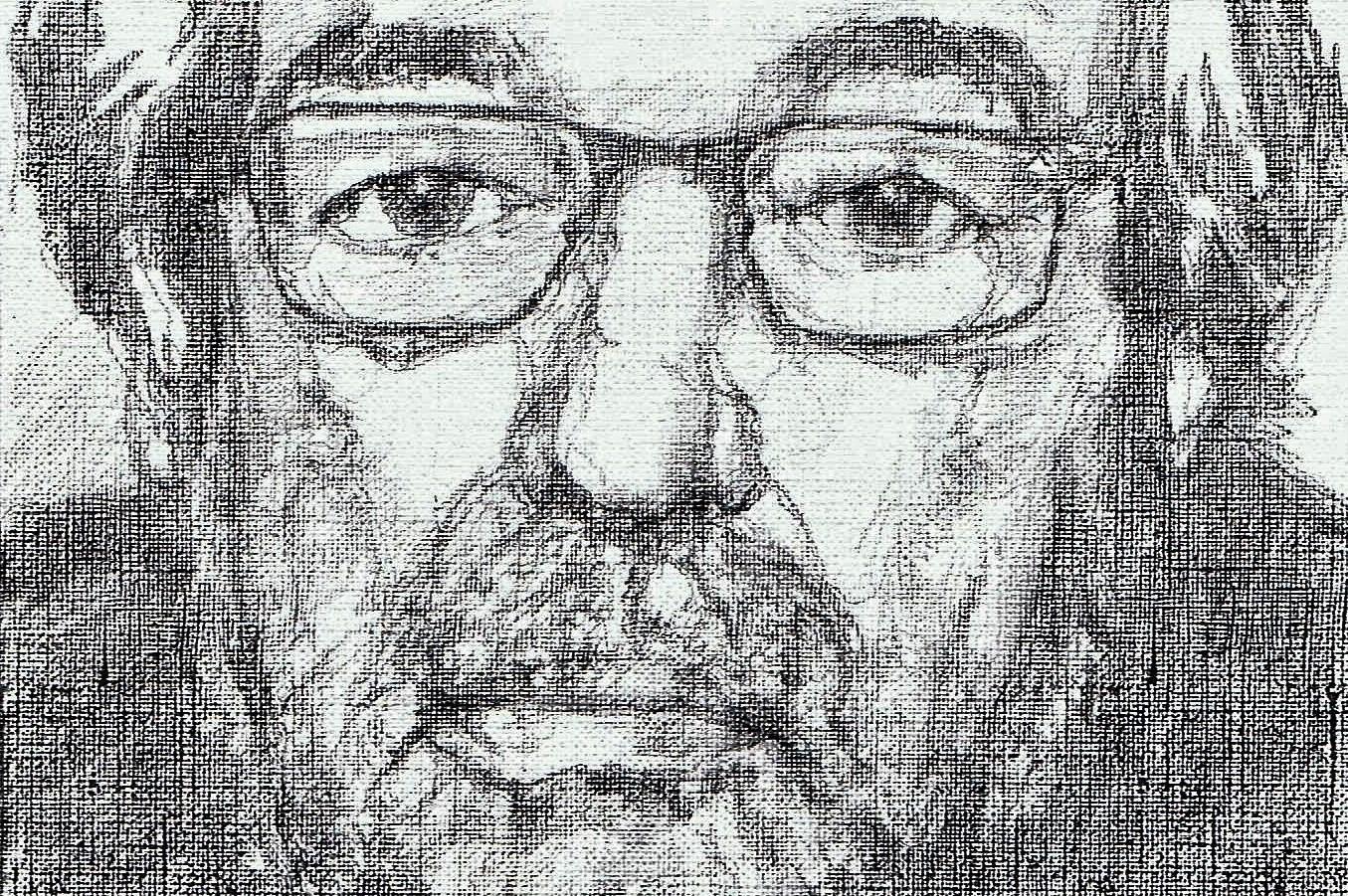 365 dagen een portret 12 Maarten van Rossum Potlood 2B 19c25