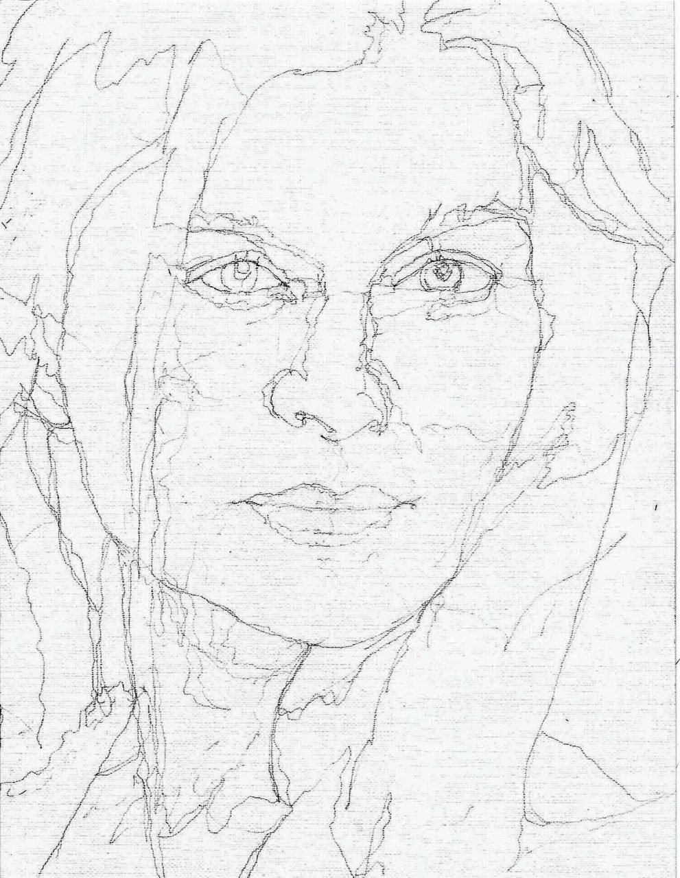 365 dagen een portret Janine Jansen, violiste Potlood 19c25