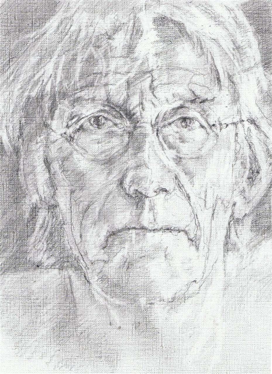 365 dagen een portret Freek de Jonge, cabaretierPotlood 19c25