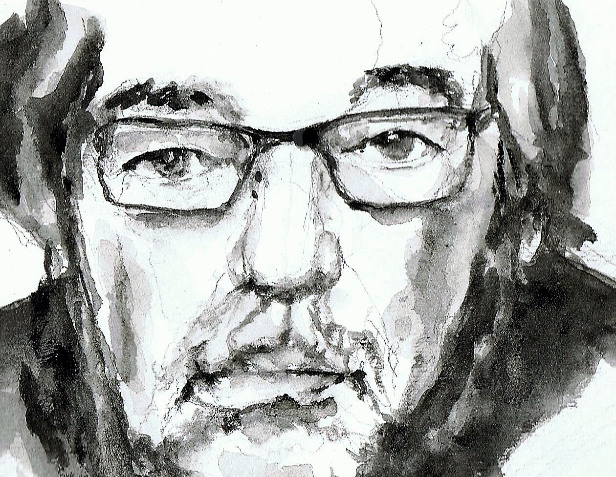 365 dagen een portret 10 Maarten van Rossum Aquarel 19c25