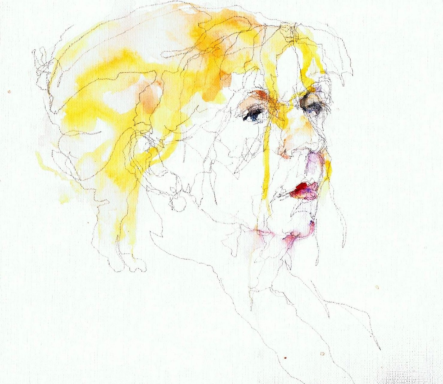 365 dagen een portret Inge Nijhof, model Aquarel 19c25