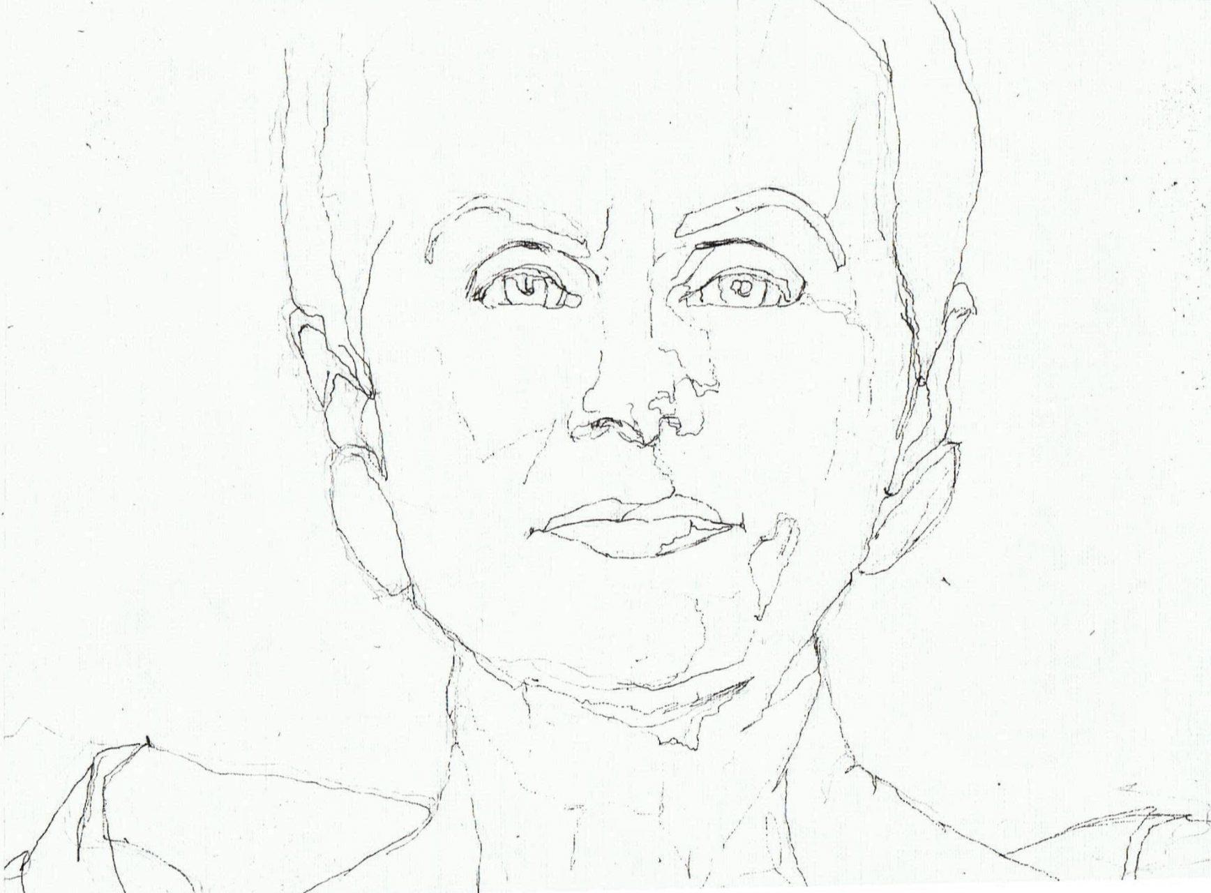 365 dagen een portret Ans Markus, kunstenaar Inkt 19c25