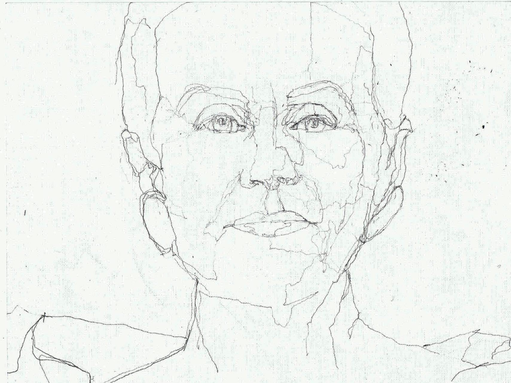 365 dagen een portret Ans Markus, kunstenaar Potlood 19c25