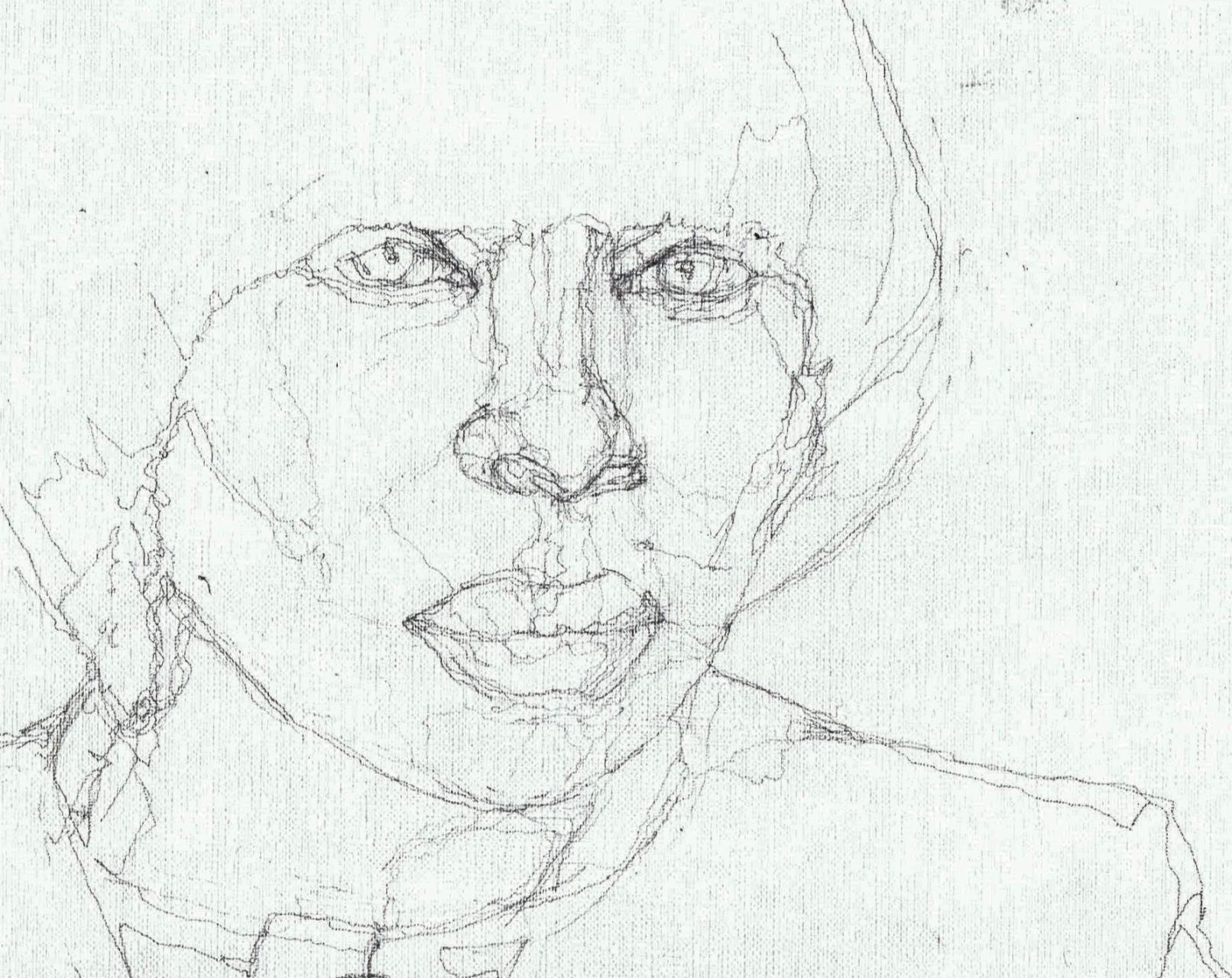 365 dagen een portret Mary J. Blige, singer-songwriter Potlood 19c25