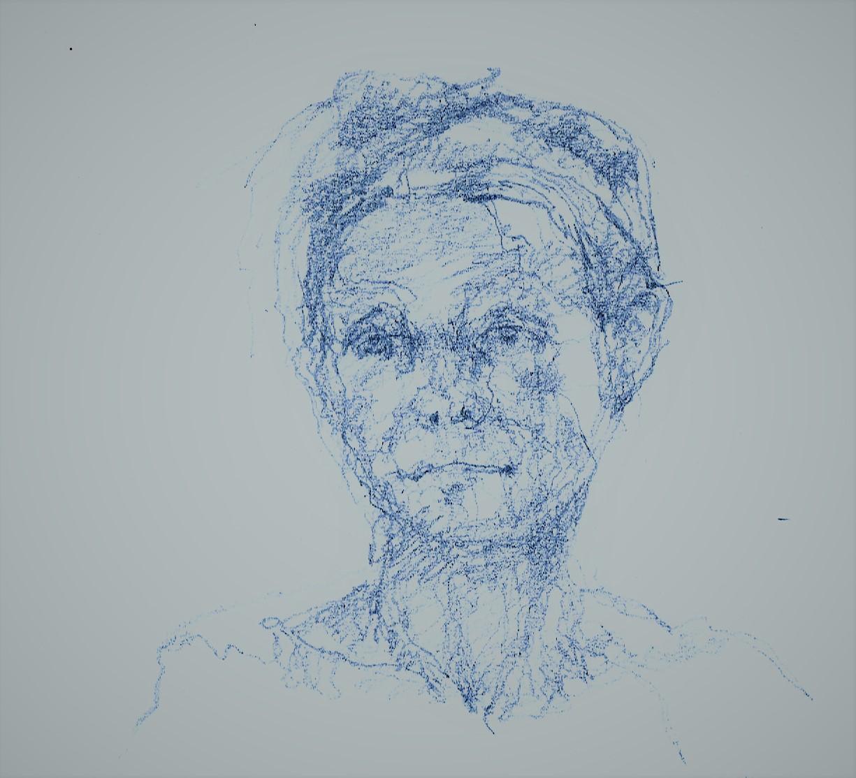 365 dagen een portret 133 Danseres Potlood 19c25